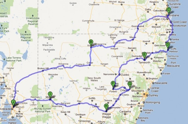 Roadtrip 2011