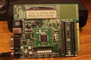 Microchip Explorer 16 Development Board
