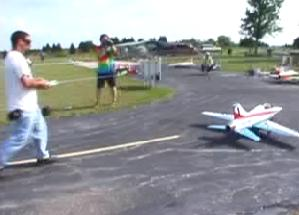 Flying session at a club - click image to see video