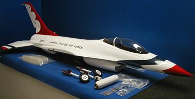 F16 Model plane kit