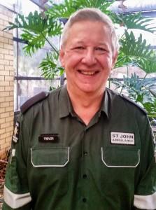 Trevor in uniform